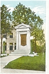 Bardstown KY John  Fitch Memorial Postcard