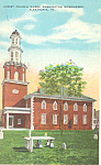 Christ Church, Alexandria,VA Postcard 1931