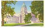 Topeka KS State Capitol Postcard