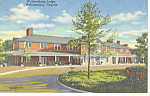 Wiliiamsburg Lodge, Williamsburg,VA Postcard