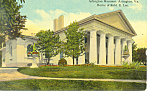 Arlington Mansion, Arlington,VA Postcard