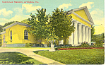 Click here to enlarge image and see more about item p18397: Custis Lee Mansion Arlington VA Postcard p18397