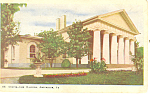 Custis Lee Mansion, Arlington,VA Postcard 1905