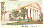 Click here to enlarge image and see more about item p18400: Custis Lee Mansion Arlington VA Postcard p18400 1907