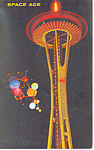Click here to enlarge image and see more about item p18416: Seattle World s Fair Seattle WA Postcard p18416 1962