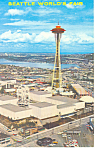 Seattle World s Fair Seattle WA Postcard p18421 1962