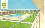 Holiday Inn Beloit WI Postcard p18440 1965