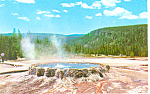 Punch Bowl Yellowstone National Park WY Postcard p18447