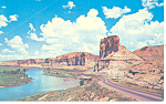 Toll Gate Palisades US 30 Green River WY Postcard