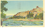 Holy City, Shoshone River WY Postcard