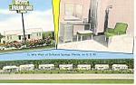 Dreamland Motel, Funiak Springs, FL Postcard