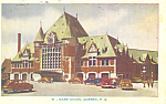 Union Station, Quebec, Canada Postcard