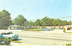 Martinez Motel, Callahan,FL Postcard Cars 50s