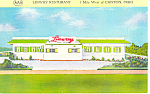 Linway Restaurant Canton OH Postcard p18506