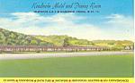 Kendricks Motel, Mansfield, PA Postcard