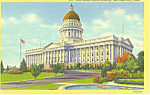 State Capitol, Salt Lake City, UT Postcard