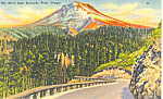 Mt Hood From Buzzards Point, OR Postcard