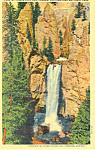 Tower Fall Yellowstone National Park WY Postcard p18530