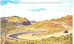 Highway Yellowstone National Park WY Postcard p18549