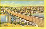 Aurora Bridge Seattle Washington  Postcard p18563