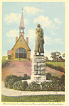 Click here to enlarge image and see more about item p18581: Memorial Church Grand Pre Nova Scotia Canada Postcard p18581