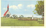 Click here to enlarge image and see more about item p18583: Acadian Park Grand Pre, Nova Scotia,Canada Postcard