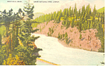 Click here to enlarge image and see more about item p18585: Bow Falls Banff National Park, Canada Postcard