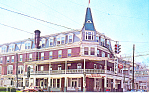 Hotel Washington, Berkely Springs, WV Postcard