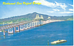 Richmond-San Rafael Bridge, California  Postcard