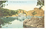 Sylvan Lake,Black Hills SD Postcard p18612
