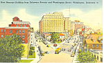 Nemours Building Wilmington DE Postcard p18616 1951