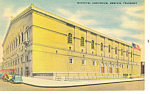 Municipal Auditorium Memphis TN Postcard p18622