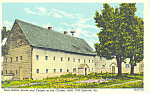 Click here to enlarge image and see more about item p18644: Saal Sisters House Cloister Ephrata PA Postcard p18644