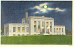 Click here to enlarge image and see more about item p18649: City Hall at Night Gainesville GA Postcard p18649