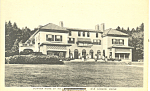 Click here to enlarge image and see more about item p18656: Home in Bar Harbor Maine Postcard p18656