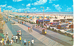 Boardwalk Cars, Atlantic City, NJ Postcard