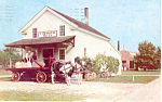 Click here to enlarge image and see more about item p18661: Loranger Grist Mill Greenfield Village MI Postcard p18661 1955