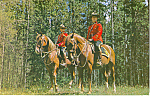 Click here to enlarge image and see more about item p18673: Mounted Police Canada Postcard p18673 1970
