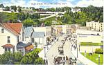 Main Street,Mackinac Island, MI Postcard 1953