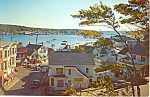 Click here to enlarge image and see more about item p18692: Boothbay Harbor, Maine Postcard 1969