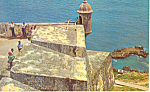 Click here to enlarge image and see more about item p18718: Fortress El Morro, Puerto Rico Postcard 1969