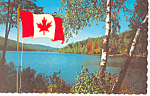 Click here to enlarge image and see more about item p18724: Lake Scene, Winnipeg, Manitoba Canada Postcard