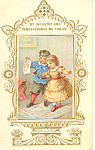 Two Cute Children Card p18740