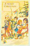 A Merry Christmas Postcard p18759 1969