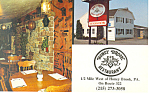 Honey Brook Restaurant Pennsylvania Postcard p18760
