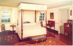 Washington's Bedroom,Mount Vernon,Virginia Postcard