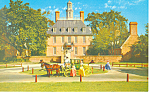 Governor's Palace Williamsburg VA Postcard p18789
