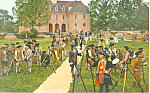 Click here to enlarge image and see more about item p18790: The Militia,Williamsburg, Virginia