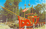Kidd s Ship Enchanted Forest Old Forge New York p18807