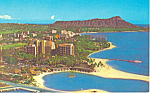 Click here to enlarge image and see more about item p18833: Hilton Hawaiian Village, Wakiki Hawaii